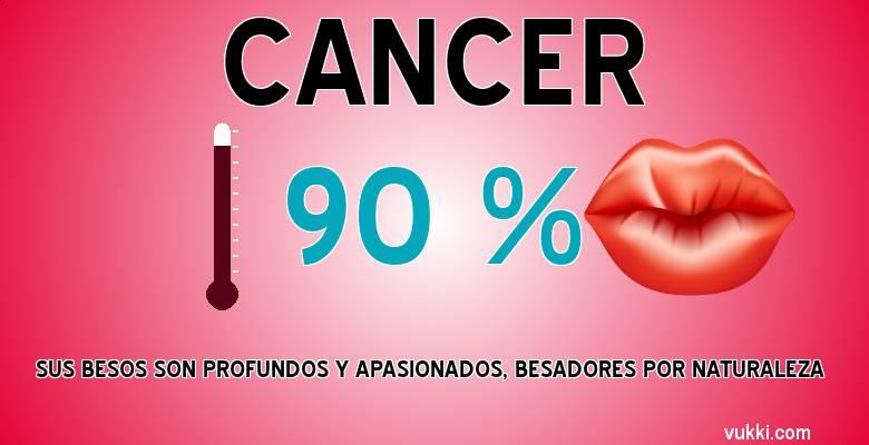 Cancer - Como besas según tu signo