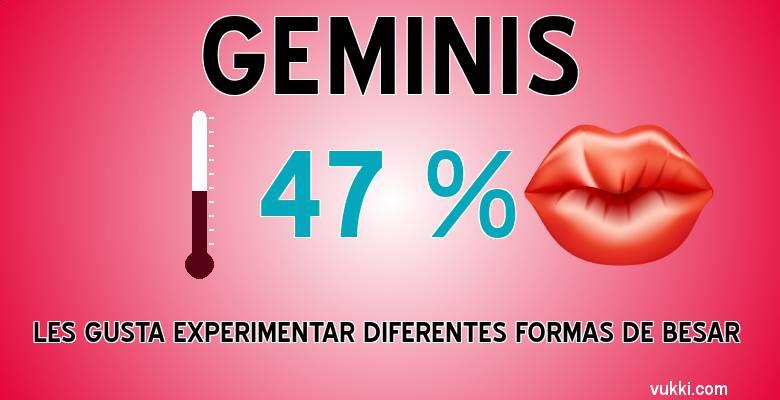 Geminis - Como besas según tu signo