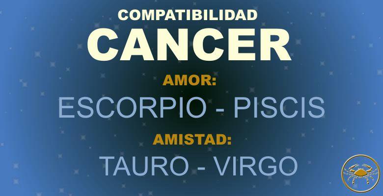 Cancer - Compatibilidad según tu signo