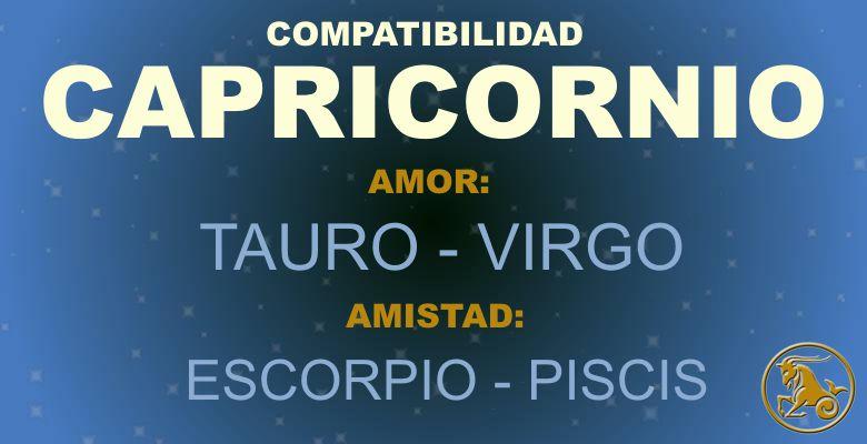 Capricornio - Compatibilidad según tu signo