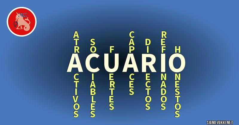 Acuario - ¿Cómo eres según tu signo?