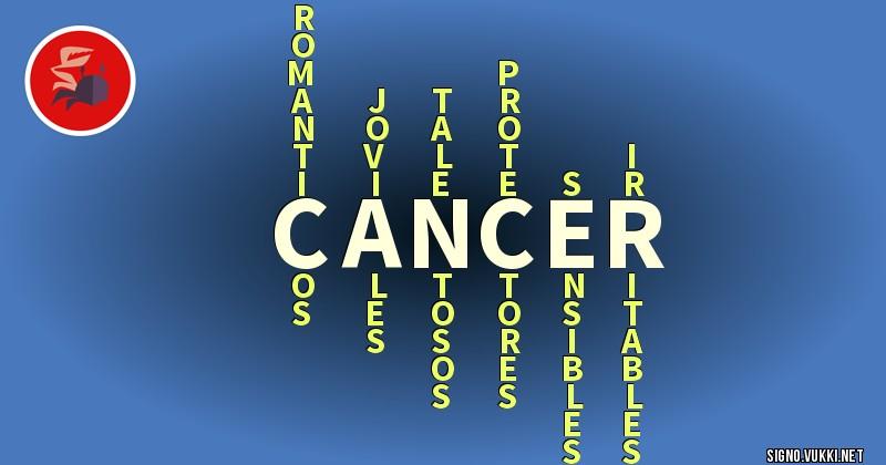 Cancer - ¿Cómo eres según tu signo?