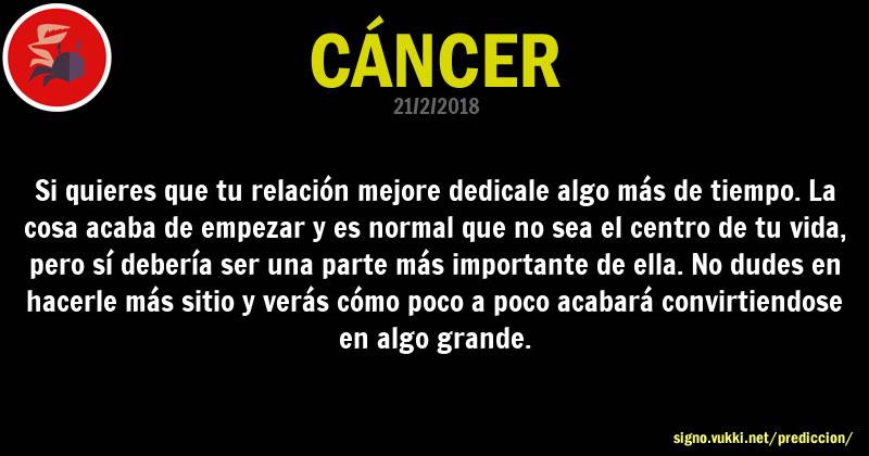 Predicción diaria de la Brujita para: Cancer - Descubre la predicción del día para tu signo!