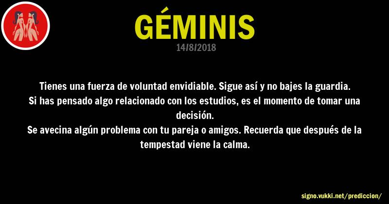 Predicción diaria de la Brujita para: Geminis - Descubre la predicción del día para tu signo!
