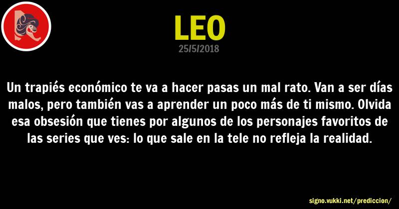 Predicción diaria de la Brujita para: Leo - Descubre la predicción del día para tu signo!